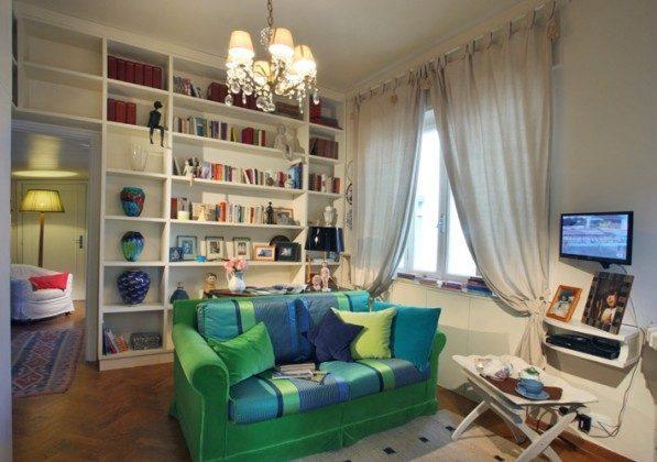 Wohnbereich mit Schlafsofa Camaiore Ferienwohnung Ref. 93914-26