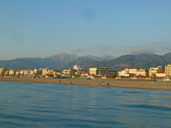 Strand von Camaiore
