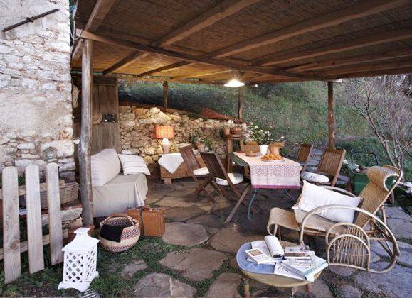 Ferienhaus Toskana Camaiore Garten
