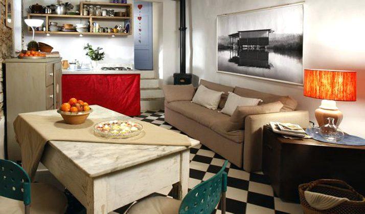 Ferienhaus Toskana Camaiore Wohnraum