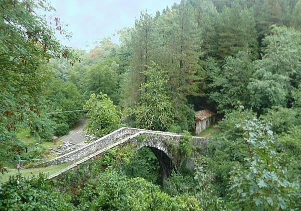 Brücke von Castiglione di Garfagnana
