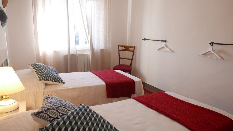 twinbedded room