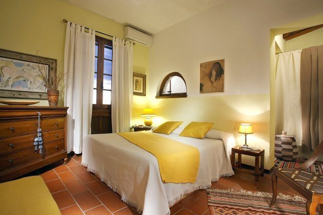 Toskana Villa Marino Schlafzimmer