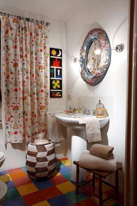 Toskana Villa Marino Badezimmer