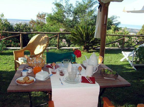 Toskana Villa Marino Garten
