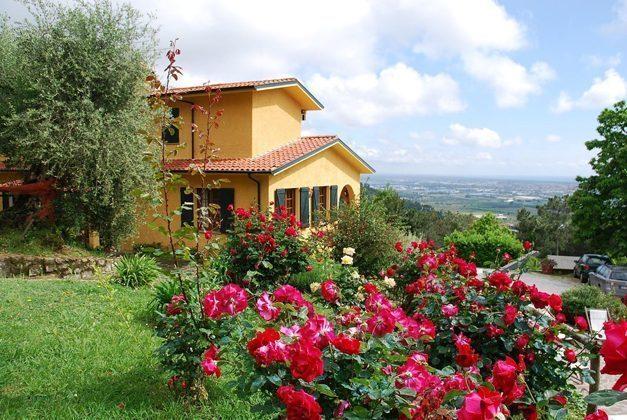 Toskana Villa Marino Gemeinschaftsgarten