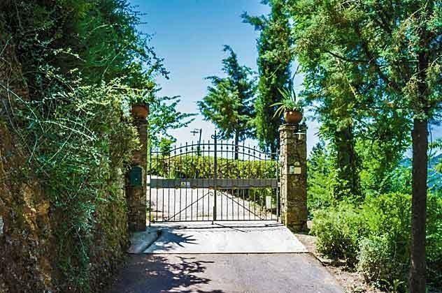 Zufahrt Ferienhaus in der Toscana Ref 31373-1