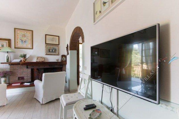 Wohnzimmer : Ferienhaus in der Toskana