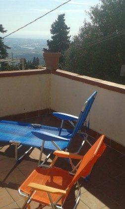 Toskana Apartment Ref. 7160-2 - möblierte Terrasse mit Küstenblick