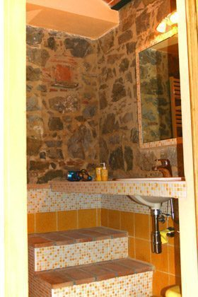 Ferienwohnung Rustico - Das Kuschel-Badezimmer
