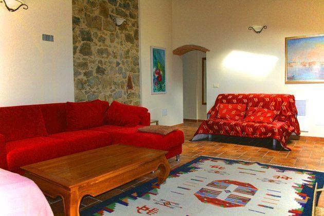 Ferienwohnung Tuscany - Großes gemütliches Wohnzimmer