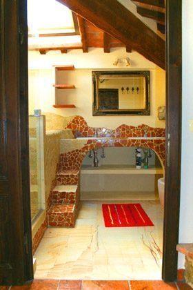 Ferienwohnung Tuscany - Das Künstler-Badezimmer