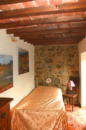 Ferienwohnung Tuscany - Einzelzimmer mit Taschenterrasse