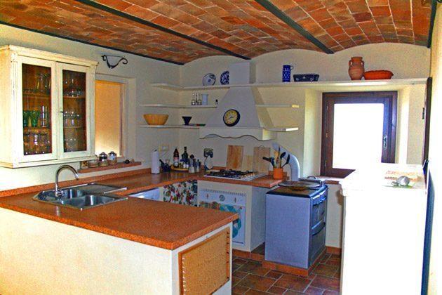Ferienwohnung Tuscany - Die Panorama-Küche