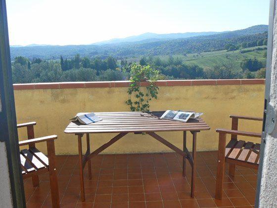 Ferienhaus Ref. 144294-1  OG Balkon mit Aussicht
