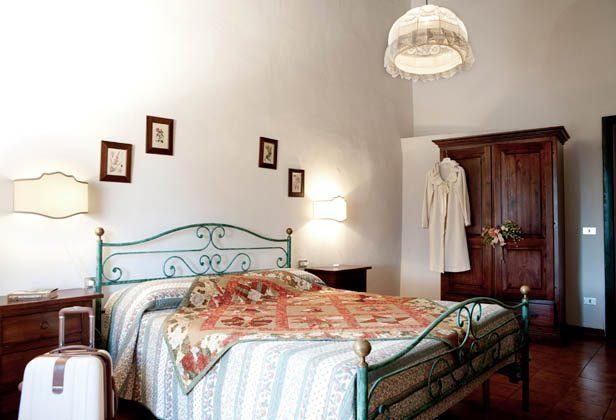 Toskana Weingut Ref.1802 Girasole Schlafbereich