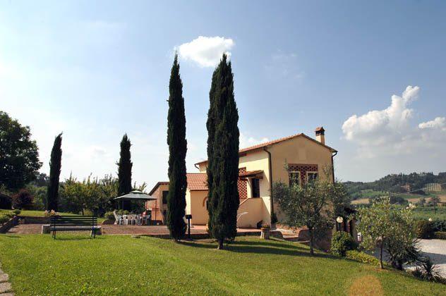 Toskana Weingut Ref.1802 Garten