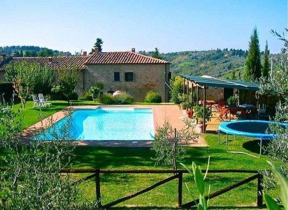 Pool   Ferienhaus Malacarne bei Volterra