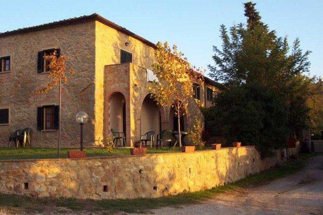 Aussen  Ferienhaus Malacarne bei Volterra