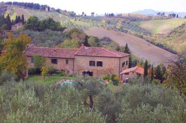 Das Landgut  Ferienhaus Malacarne bei Volterra