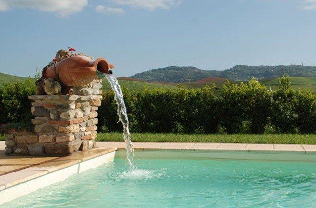 Ferienwohnung Toskana mit Garten