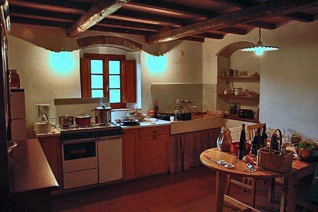 Küche Toscana Landhaus im Val di Cecina Ref 30612-1