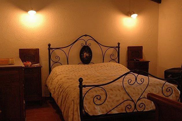 Schlafzimmer 1 Toscana Landhaus im Val di Cecina Ref 30612-1