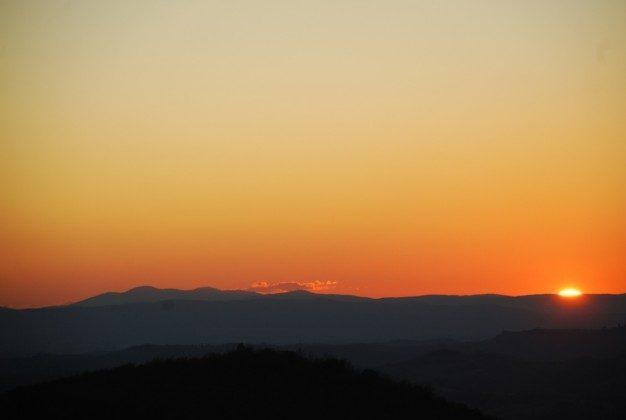 Sonnenuntergang Siena Ferienhaus Ref. 162283-6