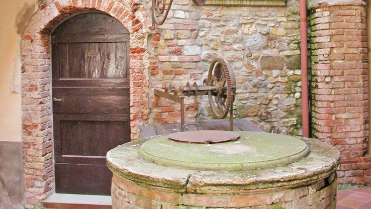 Innenhof - Ferienhaus Toskana im Chianti-Gebiet Ref 22649-12