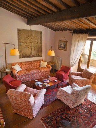 Wohnzimmer - Ferienhaus Toskana im Chianti-Gebiet Ref 22649-12