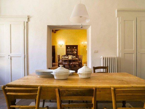 Wohnküche mit  Blick ins Speisezimmer - Ferienhaus Toskana Ref 22649-12