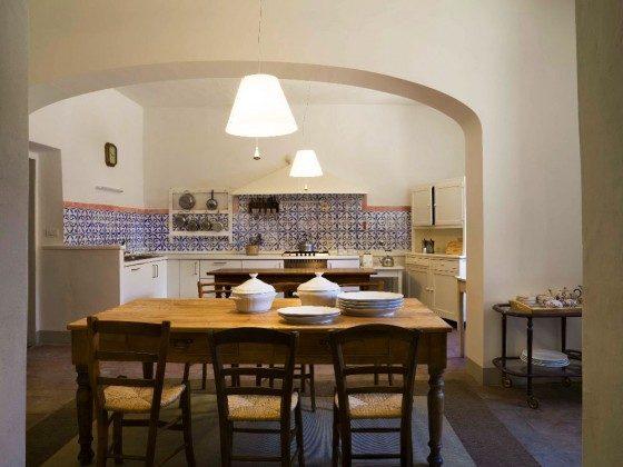 Wohnküche - Ferienhaus Toskana im Chianti-Gebiet Ref 22649-12