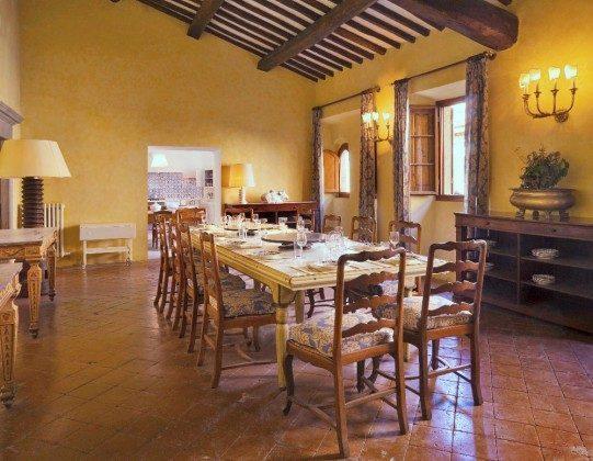 Speisezimmer - Ferienhaus Toskana im Chianti-Gebiet Ref 22649-12