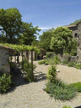 Ferienhaus 22649 - 2 - Vivo d'Orcia -  Garten mit Sitzplätzen