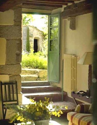 Ferienhaus 22649 - 2 - Vivo d\\\'Orcia - Blick auf den Garten