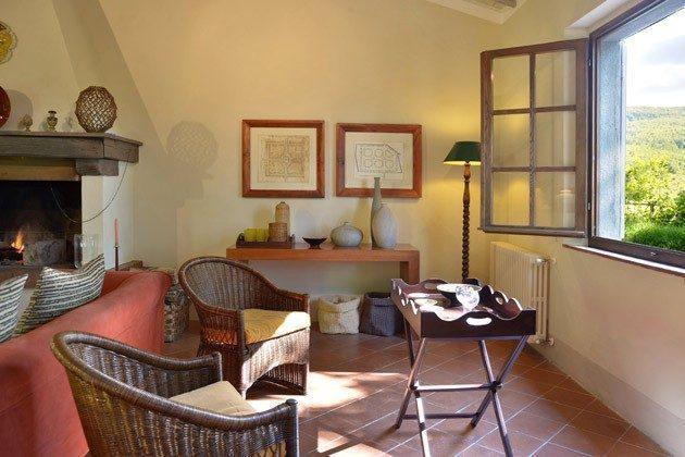 Toskana Ferienhaus 22649 - 3 - Treppe zum Wohnzimmer