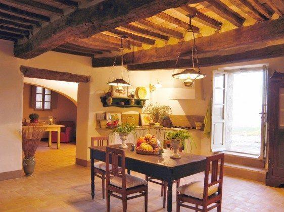 Toskana Ferienhaus 22649-7 - Wohnküche