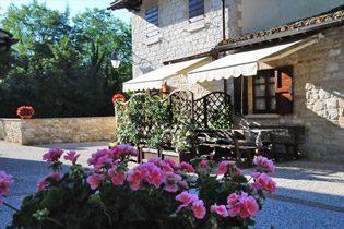 Umbrien Ferienwohnungen Landgut Wassermühle Bild 19