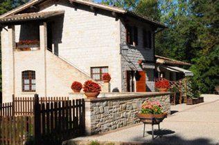 Umbrien Ferienwohnungen Landgut Wassermühle Bild 2