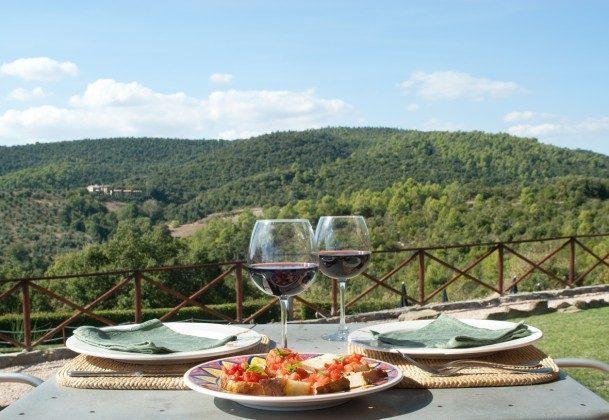 Italien / Umbrien / Landgut Cattaneo / 10 Ferienwohnungen für 2-6 Personen