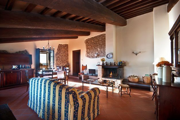 Italien / Umbrien 10 Ferienwohnungen für 2-6 Personen / App. Belvedere