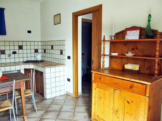 Umbrien Landgut Raffaella Wohnung Rocco Küche