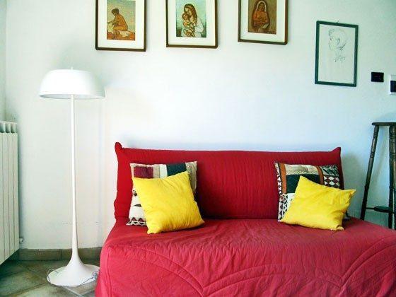 Umbrien Landgut Raffaella Wohnung Rocco Wohnbereich