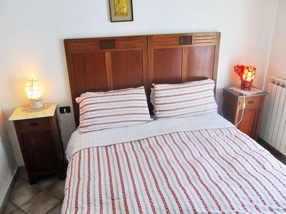 Umbrien Landgut Raffaella Wohnung Rocco Schlafzimmer