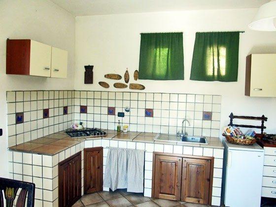 Umbrien Landgut Raffaella Wohnung Oca Küche
