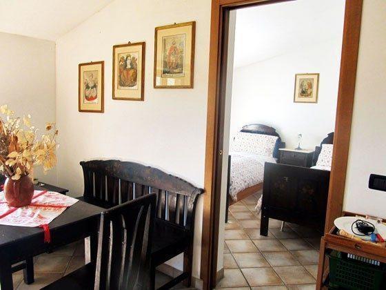 Umbrien Landgut Raffaella Wohnung Oca Wohnbereich