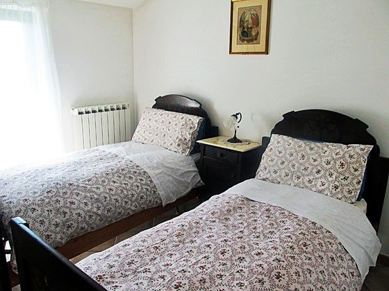 Umbrien Landgut Raffaella Wohnung Oca Schlafzimmer