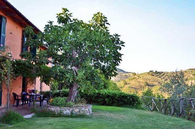 Ferienwohnung Umbrien mit Garten
