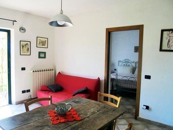 Umbrien Landgut Raffaella Wohnung Fico Wohnbereich