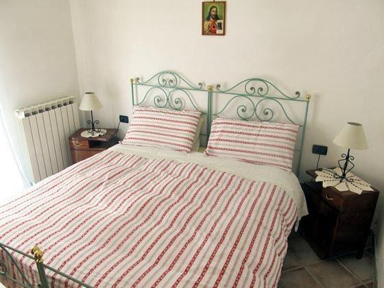 Umbrien Landgut Raffaella Wohnung Fico Schlafzimmer